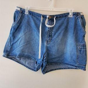 Venezia denim shorts plus size 20